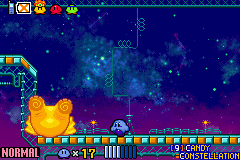 Kirby & the Amazing Mirror - ewww bum - User Screenshot